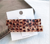Wholesale New Acetate Clip Bronzing Jelly Leopard Embossed Edge Clip Word Headdress Set Hair Clips