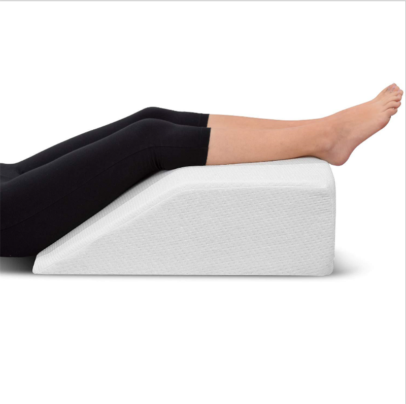 Elevating Foam Leg Rest Pillow, Wedge Pillow to Reduces Back Pain and Improves Circulation