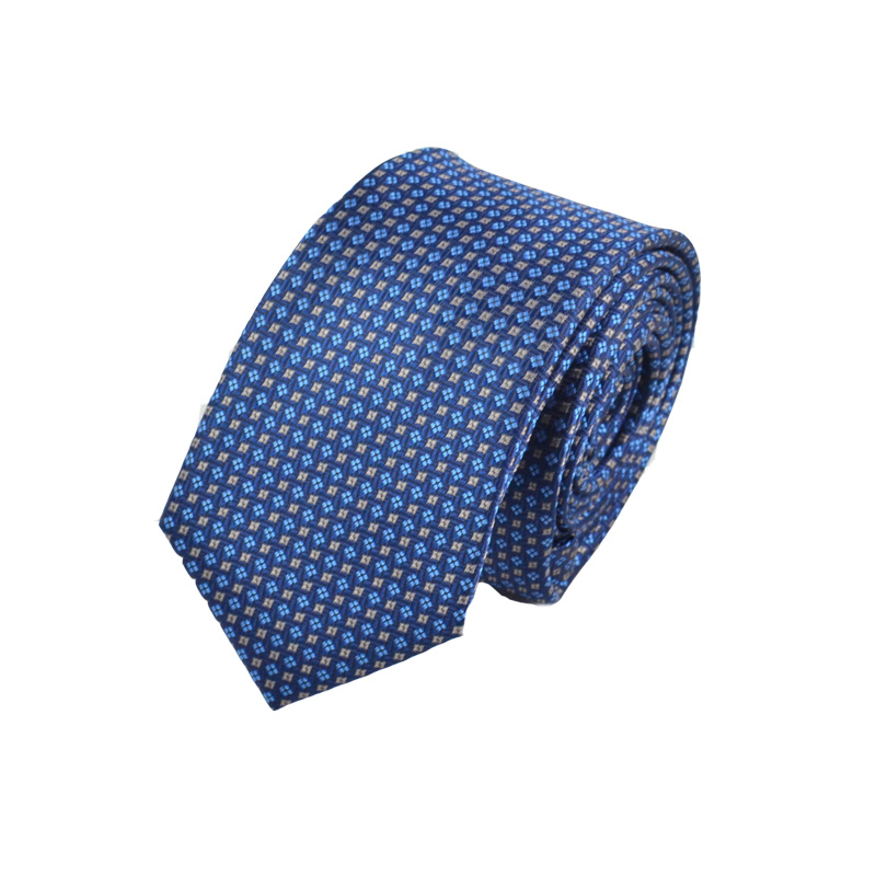 Fashion classic yarn dyed polyester tie necktie for men