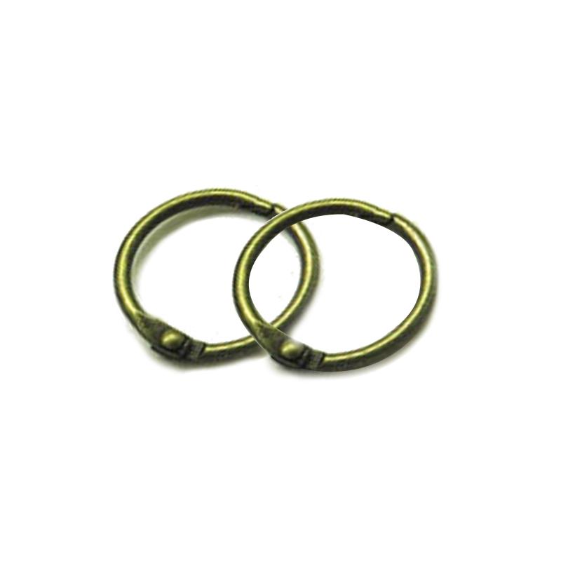 Custom Eyelet ring holder hollow metal Eyelet O-Shape Finger Ring For Shoe