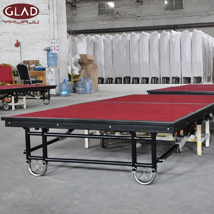 10 Years Factory Free Sample Outdoor Platform Cheap Aluminum Banquet Wedding Portable Mobile <strong>Stage</strong>