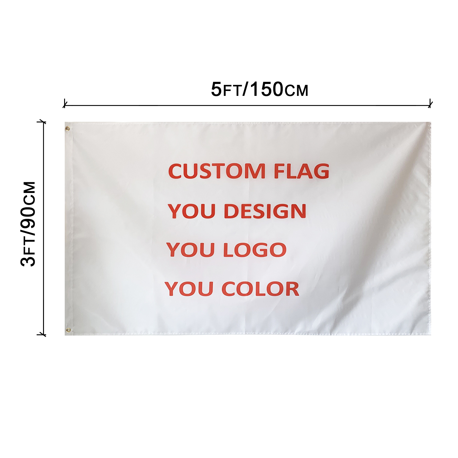 All Color Printing Wholesale Polyester Flying Custom <strong>Flags</strong> And Banners