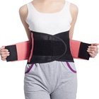 Women Men Double Straps Neoprene Sweat Slim Back Corset Sports Waist Trimmer Slimmer Belt