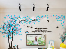 Большие 3D DIY акриловые зеркальные настенные наклейки художественная Настенная Наклейка украшение дома наклейки для гостиной диван ТВ фон о...(Китай)
