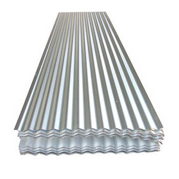 Cheap Price GI Galvanized Roofing Materials Sheet Metal Corrugated Galvanized Steel Roof Panel