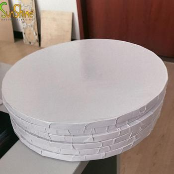 Wholesale white Cake drum smooth edge cake board