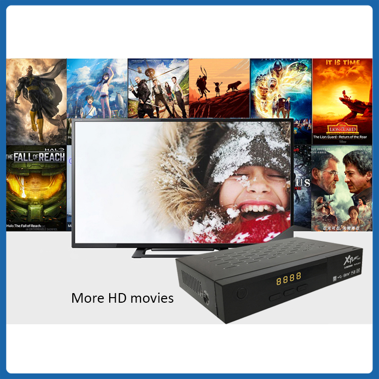 New item HD DVB T2MI S2X C IPTV COMBO RECEIVER WIFI 4G CCCAM High Definition Digital Satellite Receiver