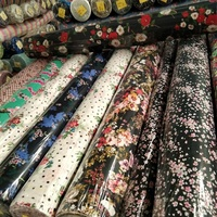 100 percent viscose printed rayon challis fabrics for dress