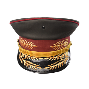 China Xinixing Military Uniform Embroidered Officer Casquette Cap