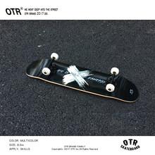 Новый OTR 80*20 см скейтборд двойной вертикальный четырехколесный Скейтборд Доска Пенни длинная доска(Китай)