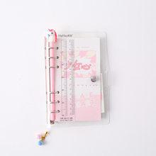 Милый блокнот A6 Binder ежедневник Sprial руководство для девочек Kawaii DIY Журнал органайзера ежедневный блокнот Канцтовары для школы(Китай)