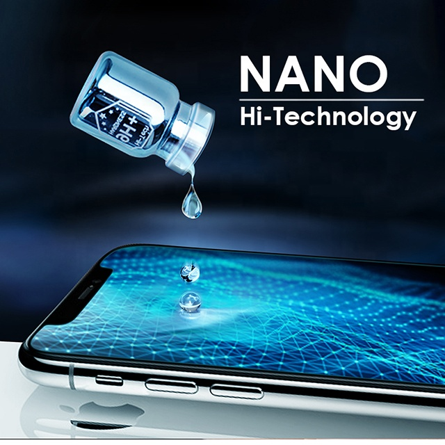 Waterproof Coating Technology For Mobile Phone 9h Nano Liquid Screen Protector