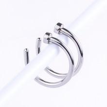 1 шт. u-образное поддельное кольцо для носа 8 мм кольца для перегородки из нержавеющей стали имитация пирсинга для носа и губ пирсинг Oreja пирси...(China)
