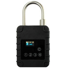 bluetooth smart SIM lock e-seal gps tracking container/trailer/truck/vehicles SMS unlock