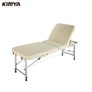 Top Selling beauty salon table synthetic leather facial furniture portable lightweight foldable massage bed for sale