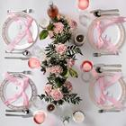 Ps Rose Gold Rimmed Best Plastic Dinner Plates