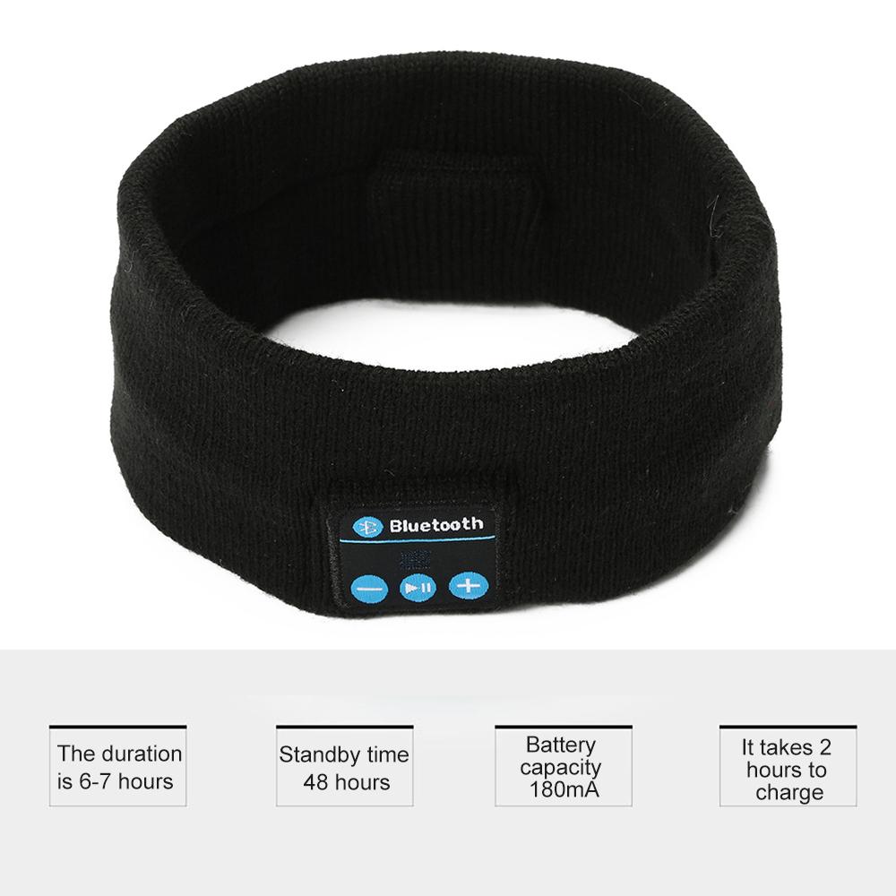 Wireless Bluetooth Headband Sleep Stereo Headset Sport Earphone Headphone