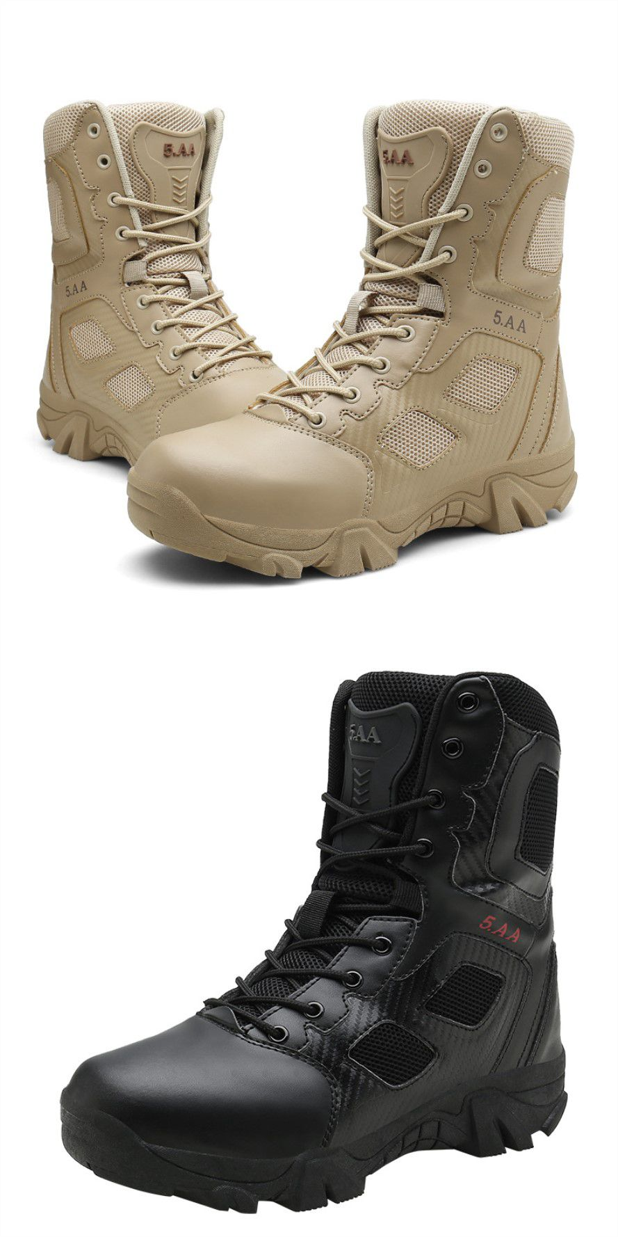 High top Shoes Outdoor Climbing Off road Men's Boots Wear resistant Military Boots Men's Special Hiking Climbing Tactical Boots