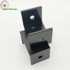 China factory directly sales cnc machining aluminum black computer parts
