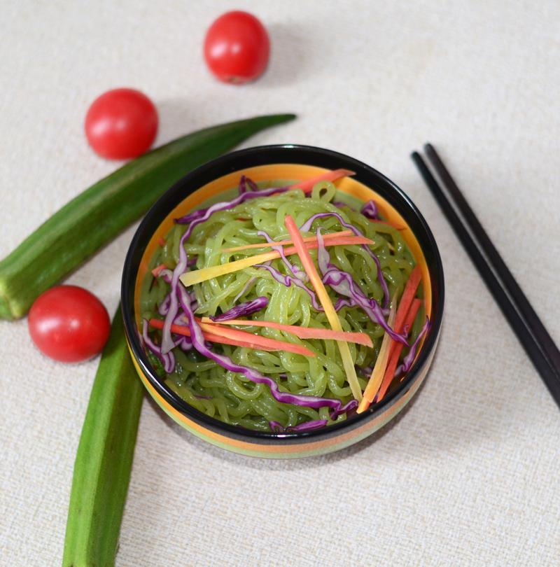 Органическая мгновенная конак сиратаки шпинат лапша хорошо подходит для диабетиков (EC, NOP)