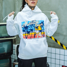 Ladies Oversized Printing Logo Women Sweatshirt High Street Clothing China Manufacturer Unisex Custom Embroidery Hoodie