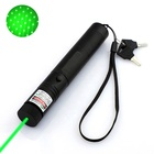 Military 532nm Beam Light Green 303 Laser Pointer With Star Cap
