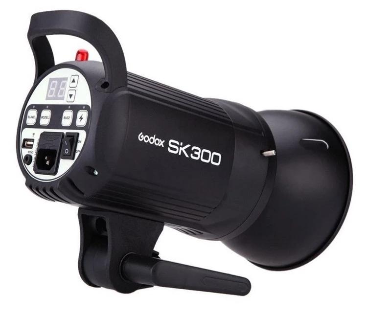 GODOX SK300 SK400 110/220V  Professional Studio Strobe light flash SK Series 5600K Max 300WS 400WS GN58 flash studio light lamp