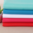 Plain dyed 160gsm twill woven 100 polyester gabardine fabric for workwear