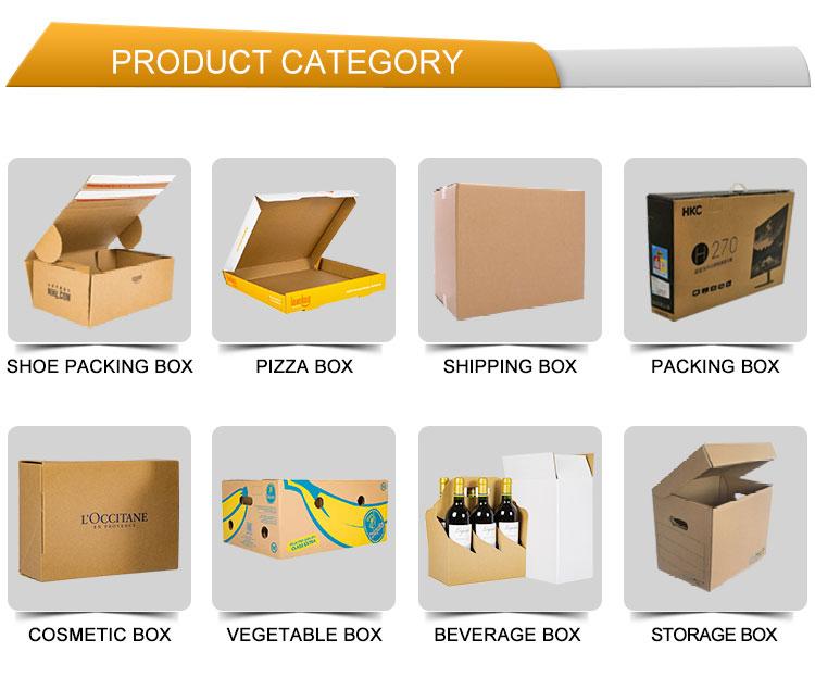 गर्म बिक्री अद्वितीय डिजाइन नालीदार कस्टम मुद्रण पैकेजिंग टेलीफोन बॉक्स