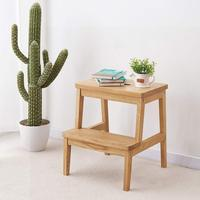 Oak Wood Two Step Stool
