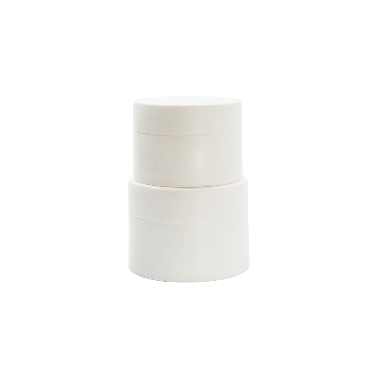 PP cosmetic cream jar with lid empty lotion container