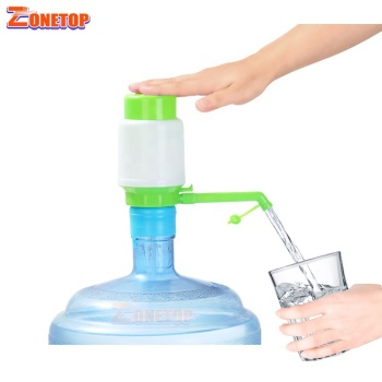 Free Samples Portable 20L 5 Gallon Bottled Water Dispenser Pump Manual Piston Vacuum Hand Water Pump For Water Jug