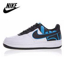 Nike Air Force 1 оригинальное новое поступление мужская обувь для скейтбординга легкие удобные кроссовки # AA0287-002()