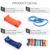 High quality ultralight  Fitness Gym Strength Training Rubber Fitness Equipment Sports Latex Yoga Belt