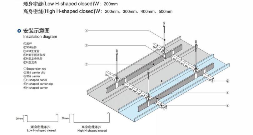 Insonorizzate e Ignifugo Acustico Flessibile In Metallo Mattonelle del Soffitto