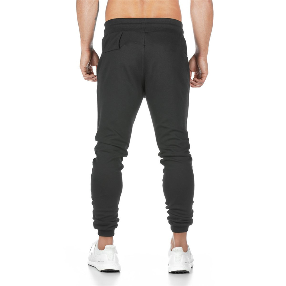 Casual Trousers Sweatpants Men Easy Cuffless Trousers Joggers Men Pants Streetwear  Thin Polyester Track Pants