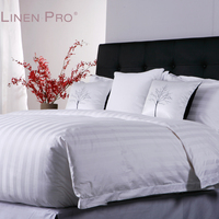 China Supplies Linen Comfort 300Tc Egyptian 100 Cotton White 5 Star Sheets Bed For hotel