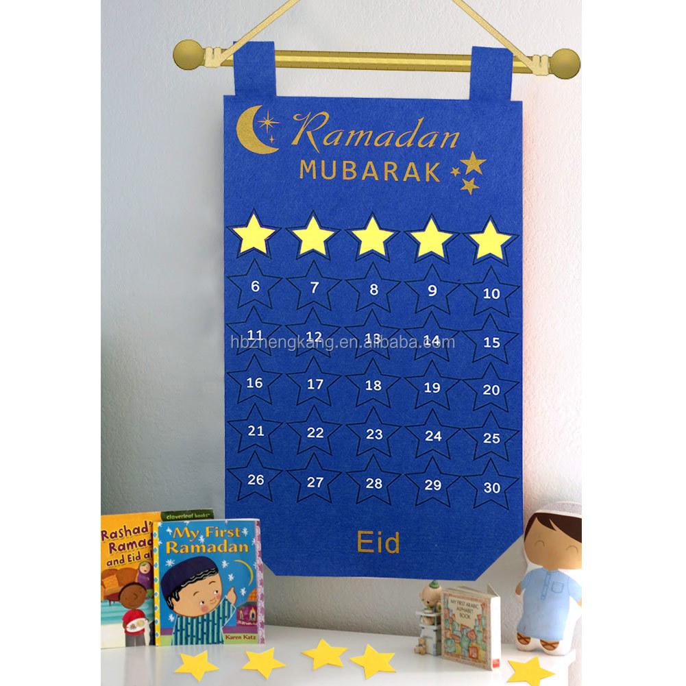 Ramadan Dekorasi Biru Pink Merasa Kalender Islam Muslim Pesta Festival Happy Eid Mubarak Ramadan Kareem Gantung Dekorasi Buy Wall Hanging Dekorasi Countdown Calendar Dekorasi Rumah Potongan Product On Alibaba Com