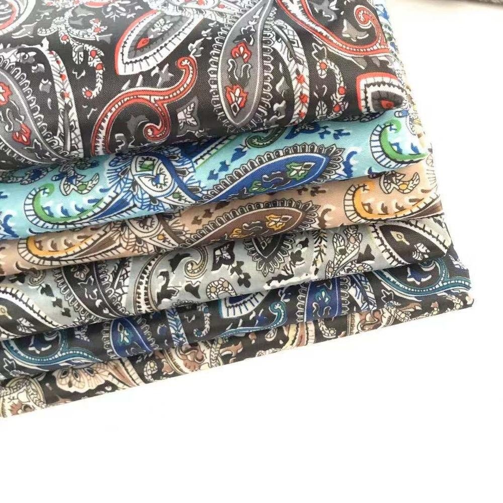 190T Printed Taffeta Lining Fabric 46gsm For Garment Thousands Pattern