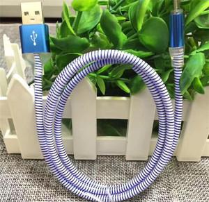 New Design 5 Colors PVC Led Light Charging Micro USB Cable CB26