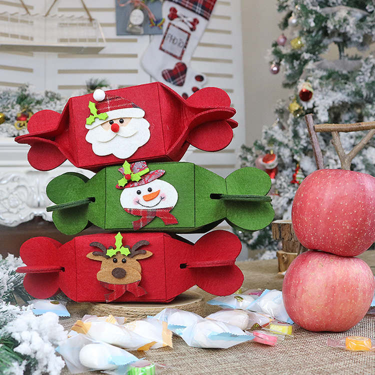 Christmas Candy Boxes Christmas Candy Shaped Gift Box Chocolate Packaging Box For Sale