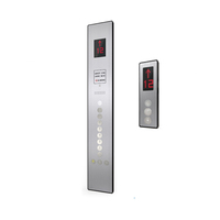 Chinese Production Elevator Wall Panel Cop Lop Elevator Touch Button Panel