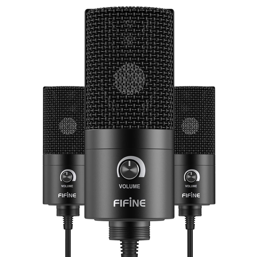 Studio Gaming Podcast Microphone for Streaming Singing USB Professional Condenser Microphone for Tablet Recording Microphone