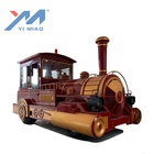 Amusements Rides Yimiao Trackless Electric Train Set