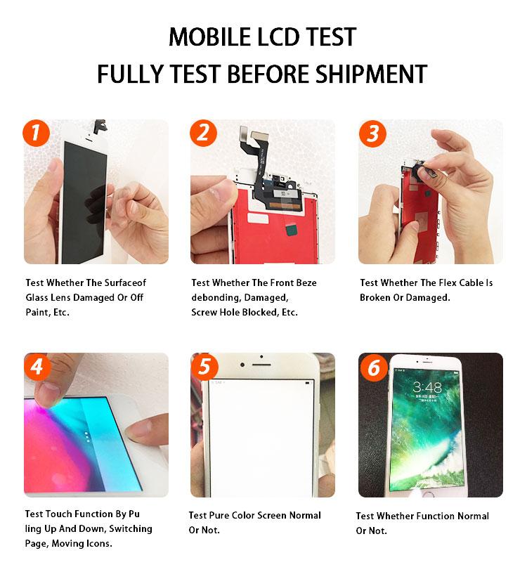 Lcd ekran dokunmatik ekranlı sayısallaştırıcı grup iPhone 5 klon için kaliteli ucuz fiyat % 100% uyumlu