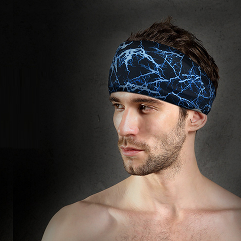 Factory Men Women Sport Running Jogging Yoga Headband Custom Logo Breathable Thin Headband