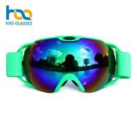 Oem Anti Fog Custom Logo Manufacturer Ce Certified Frameless Adult Mini Magnet Ski Snow Bike Goggle