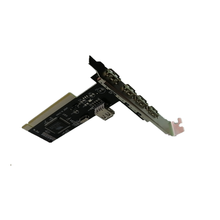 Expansion Karte adapter 4 + 1 usb 2.0 <span class=keywords><strong>PC</strong></span> computer Desktop 5 Port pci usb Karte