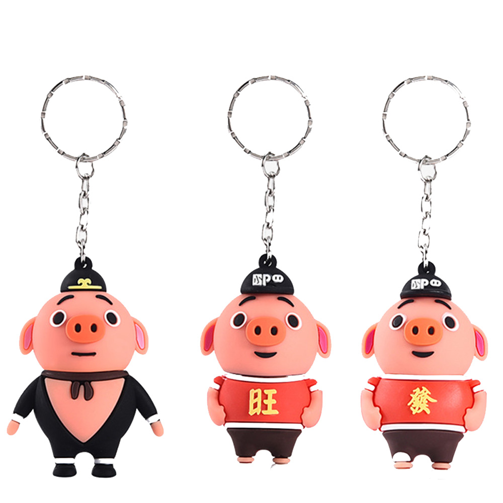 De cerdo de dibujos animados Usb Flash Drive 32GB 64GB Pen Drive capacidad Real cerdo chino Usb Stick 16GB 4GB GB Pendrive Usb 2,0 Flash Memory Stick