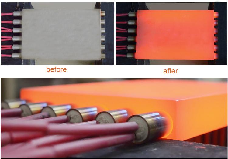 5 مللي متر 12 فولت 30 واط الكهربائية مايكرو عنصر الحرارة الصغيرة مع مواسير الصلب غير القابل للصدأ الصلب